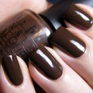 Brown Nails
