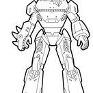 Mecha Team Leader Fortnite Season 10 Coloring Pages Printable