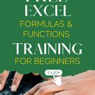 Free excel webinar masterclass to quickly advance your excel level