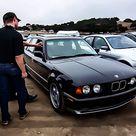E34 ///M5 Touring, at Laguna Seca, in 2008