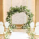 Taking you BTS of this dreamy floral design!