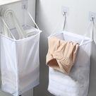 An der Wand montierte schmutzige Wäschekorbpaste Typ Täglicher Aufbewahrungskorb für den Haushalt