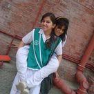 Pakistan, Rahim Yar Khan school girls in salwar kameez uniform