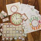 Telling the time - MATERIALPAKET – Unterrichtsmaterial im Fach Englisch