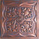 Tin ceiling tiles rustic copper bar store decor ceiling panels PL64 10tiles/lot