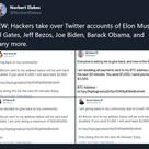 Massive Attack on Twitter: Accounts of Bill Gates, Obama, Elon Musk, Apple, Uber and More Hacked in Bitcoin Scam