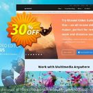 [30% OFF] Movavi Video Editor Plus for MAC (1 year) Coupon National Women month offering sales, March 2021