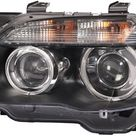Hella 02 07 BMW 7 Series Bi Xenon Headlight Left Clear Turn Signal