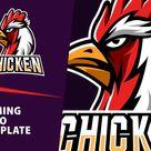 Chicken Gaming Logo Template (515377) | Logos | Design Bundles