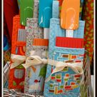 Gift Inspiration Day Ten:  Folded Pot Holder
