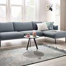 andas Ecksofa »Mavis«, mit Chaiselonge, mit losen Sitz- und Rückenkissen, skandinavischer Stil online kaufen | OTTO