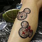 Matching Disney Tattoos