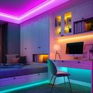 This Theme will never get old 😍🥰 LED Strip Lights!