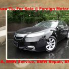 2012 Acura TL, For Sale, Foreign Motorcars Inc, Quincy MA, BMW Service, BMW Repair, BMW Sales