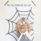 Pin the Spider on the Web | Free Printable