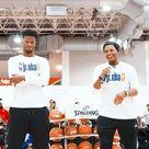 Toronto Raptors: Sunday morning with the @jrnba fam. #ThisIsWhyWePlay…