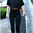 gym outfit for school athletic wear 7+ Outfits With Leggings For School 2020