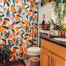 Dieses Boho Apartment zeigt, wie Sie einer Standardmiete jede Menge Farbe hinzufügen können