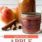 Apple Pie Jam Low Sugar Recipe
