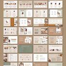 Ad: Slide Deck / CANVA, INDD / Elegant by Mirazz on @creativemarket. Create an amazing Webinar, eCourse or Marketing Slide Deck was never easier then now. Elegant slide deck is 75+ beautiful slides made for #creativemarket