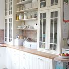 Ich bin soooooo glücklich ! Die neue alte weiße Küche No2 * I' m so lucky ! My new old white kitchen no 2