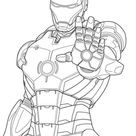 Free & Easy To Print Iron man Coloring Pages