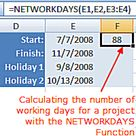 How to Use Excel to Count Days Between Two Dates