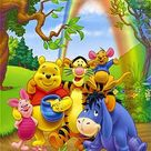 Family Winnie The Pooh Fairy Tale 173 Modern Cross Stitch Pattern Counted Cross Stitch Chart Pdf Format Instant Download