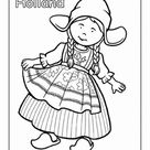 Dutch Traditional Clothing   Worksheet   Education.com