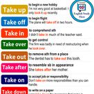 Phrasal Verbs with TAKE in English - English Study Here