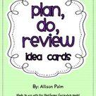 Plan, Do, Review idea cards