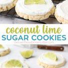 Coconut Lime Sugar Cookies (Twisted Sugar Copycat Recipe)