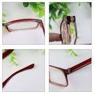 Classic Men Women Plastic Frame Reading Glasses 1.00 to 4.00 Elder Adult Glasses - purple, 2