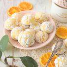Zarte Orangen Bacios    Soft Amarettinis