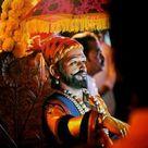 Image Of The Great Maratha King Chatrapati Shivaji Maharaj