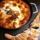 Hackbällchen überbacken mit Mozzarella…Tapas aus dem Ofen