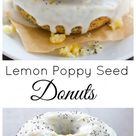 Lemon Poppy Seed Donuts - Baker by Nature