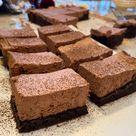Chocolate Mousse Brownies or Best Brownies EVER!