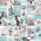 Spice up your room with this summer aesthetic wall collage kit