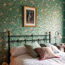Take the tour! Fall in love with this William Morris inspired canalside home