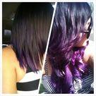 Long Purple Hair