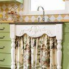 24 Unique Kitchen Cabinet Curtain Ideas for an Adorable Home Decor Style