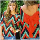 Chevron Tops