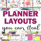 The Best Happy Planner Layout Ideas for 2021