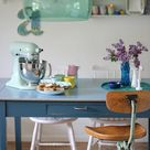 Inspirerend | Mooie hanglamp in pastelkleuren.   Door Annadieleman