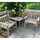 Smith & Hawken outdoor teak furniture