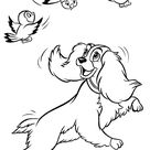 Lady and the Tramp coloring pages   Coloring pages for kids   disney coloring pages   printable coloring pages   color pages   kids coloring pages   coloring sheet   coloring page   coloring book   cartoon coloring pages