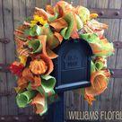 Fall Mailbox Decor