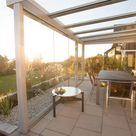 Glasschiebeelemente für Terrasse   Montiert von Fenster Schmidinger / OÖ