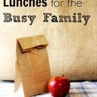 Sack Lunch Ideas